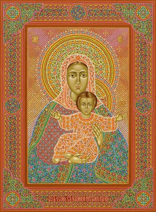 "Image of Our Lady ""I am with you and no one against you"""